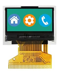 0.96 inch 128x64 TFT LCD Display Panel SPI Interface ST7735 Controller