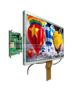 10.1 inch Raspberry PI Screen w HDMI+Video+VGA Driver Board,1024x600