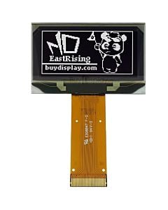 128x64 I2C OLED Display 1.5 inch Serial  Module,SSD1309,White on Black