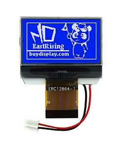 1.4 inch 128x64 Serial Graphic LCD Display Module,ST7565r,Blue on White