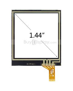 1.44 inch 4 Wire Resistive Touch Screen Panel