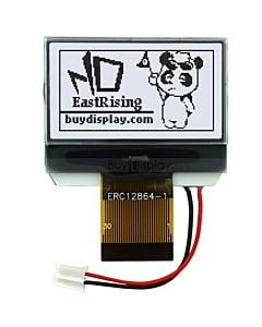 1.4 inch Graphic 128x64 LCD Module Serial SPI,ST7565,Black on White