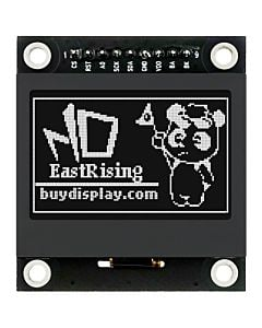 1.54 inch Black 128x64 Graphic LCD Display Module SPI for Arduino