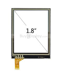 1.8 inch 4 Wire Resistive Touch Panel Screen