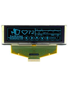 2.8 inch OLED Modules 256x64 Graphic Display,SSD1322,Blue on Black