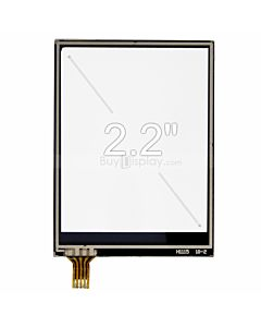 2.2 inch 4 Wire Resistive Touch Screen Panel