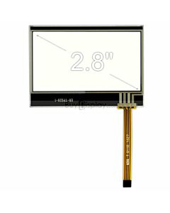 2.8 inch 4-Wire Resistive Touch Panel Screen