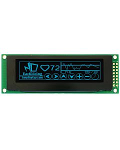 2.8 inch OLED Display Module 256x64 Graphic with PCB,Blue on Black