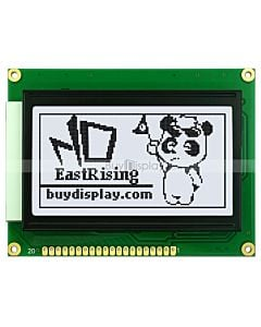 2.9 inch 128x64 Graphic LCD Display Module KS0108 Black on White