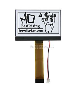 2.9 inch cog lcd module 128x64 display arduino,st7565p,White on Black