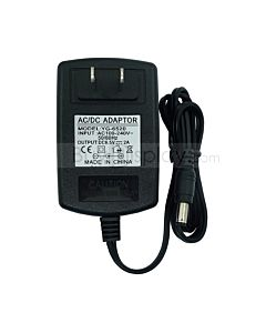 12V 1A Power Adaptor Side View