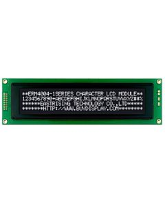 3.3V/5V 40x4 LCD Module Display,White on Black,HD44780 Controller