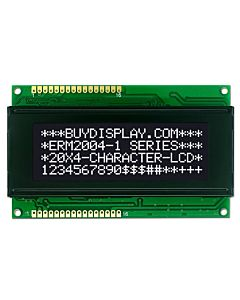 3.3V/5V 20x4 Character LCD Display Module,White on Black,High Contrast
