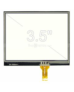 3.5 inch 4 Wire Resistive Touch Screen Panel with Soldering Type FPC