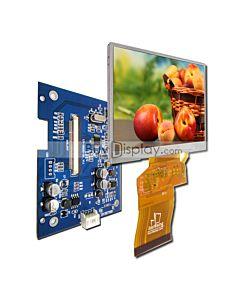 3.5 TFT LCD Display Module in 320x240,Video AV Driver Board