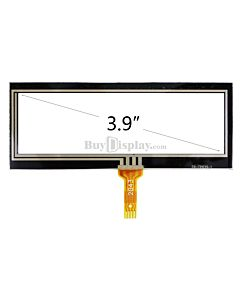3.9 inch 4-Wire Resistive Touch Screen Panel