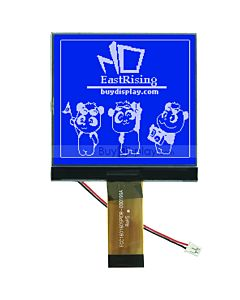 3 inch LED Backlight Display 160x160 LCM Module Graphic,White on Blue