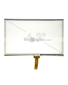 4-3-inch-4-wire-resisitve-touch-panel-screen
