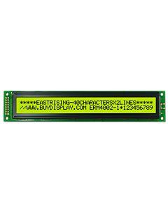 40x2 LCD Display Character Module,Arduino,Pinout,HD44780,Black on YG