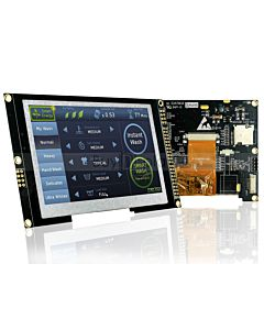 4.3 inch TFT LCD Display Capacitive Touchscreen w/RA8875 Controller