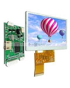 4.3 inch Raspberry Pi Touch Screen TFT LCD Display HDMI with Driver Board