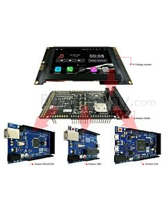 4.3 inch TFT Capacitive Touchscreen Display Arduino Shield 480x272