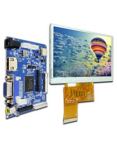 4.3 LCD HDMI VGA,Video AV Driver Controller Board,TFT Module Display