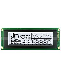 5.2 inch 24064 lcd 240x64 T6963C Controller Module Display,Black on White