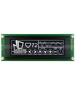 5.2 inch Graphic LCD 240x64 Module Display,T6963,White on Black