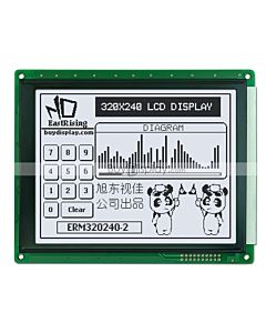 5.7 inch 320x240 LCD Display Graphic Module ,Touch Panel, Black on White