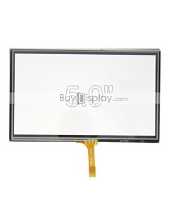 "5"" 5 inch 4-Wire Resistive Touch Screens Panel"