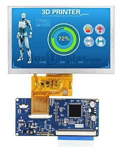 5 inch 800x480 Touch Screen TFT LCD Display Module