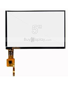 5 inch Multi Touch Screen Panel with Controller GSL1680F