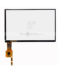 5 inch Capacitive Touch Panel with Controller GSL1680