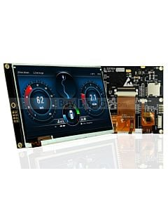"5""TFT LCD Display Capacitive Touchscreen w/RA8875 Controller 800x480"