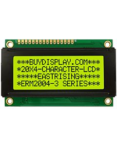 Small Size 20x4 LCD Display Module Wide View Angle