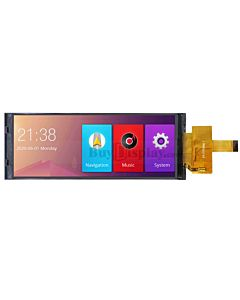 6.86 inch 1280x480 Bar IPS TFT LCD Display Screen MIPI for IoT