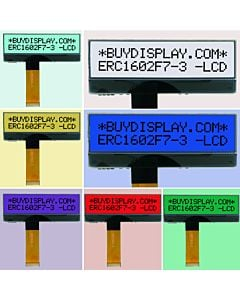 7 colors 16x2 Character LCD RGB backlight Display Module