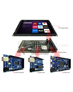 7 inch 1024x600 TFT Touch Shield for Arduino Capacitive Touch Screen