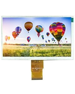 7 inch 50 pin LCD Display 1024x600 Touch Screen,RGB