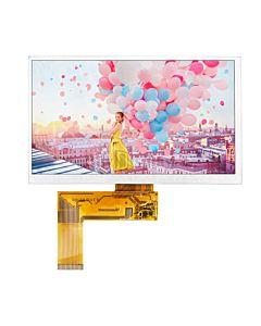 7 inch 800x480 40 Pins TFT LCD Display wTouch Panel and Touch Driver