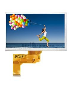 7 inch 800x480 TFT LCD Touch Display Module for MP4,GPS,Tablet PC