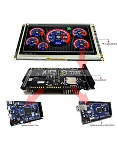 7 inch Arduino Touch Screen Shield SSD1963,Library for Mega Due