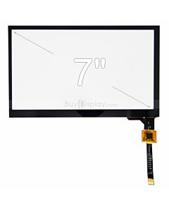 7 inch Capacitive Touch Panel with Controller FT5316 for 800x480
