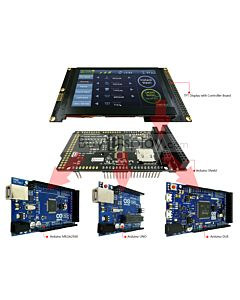 800x480 4.3 TFT Arduino Shield Capacitive Touch Screen for Mega Due Uno