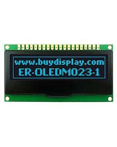 2.2 inch 128x32 OLED Dot Matrix Display Module with PCB,Blue on Black