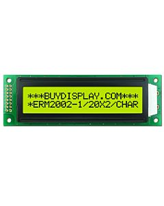 Arduino 20x2 LCD Module Display,Datasheet,Pinout,HD44780,Black on YG