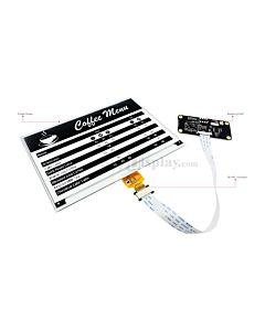 Connect Black 7.5 inch 640x384 e-Paper Display Panel to Raspberry Pi Zero