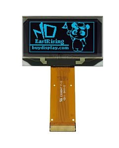 Blue I2C 1.5 inch OLED Screen Serial 128x64 Display Module,SSD1309