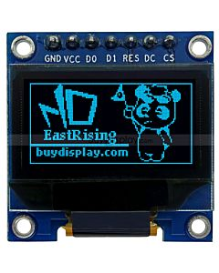 Datasheet 128x64 OLED Module SPI 0.96 inch Graphic Displays,White on Black